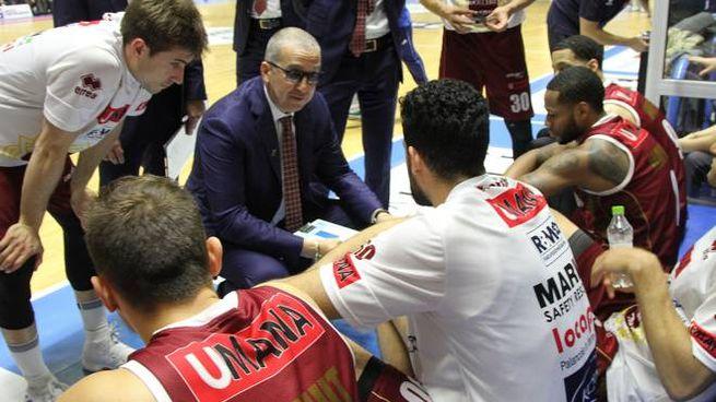 Un timeout di coach De Raffaele