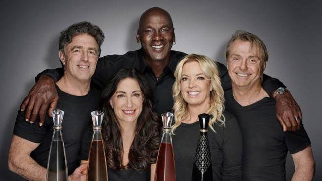 Michael Jordan e gli altri fondatori della tequila Cincoro - Foto: press Cincoro