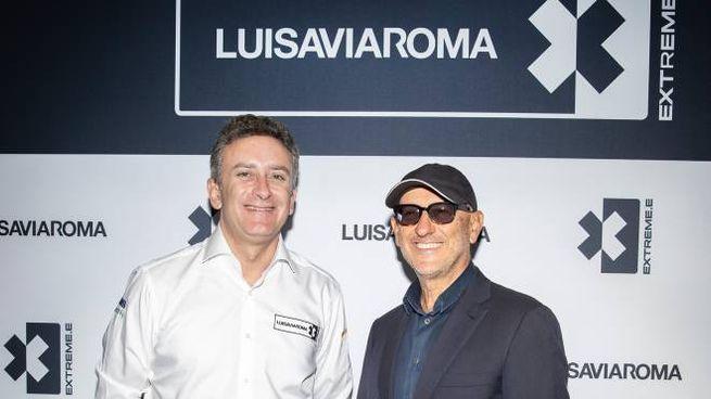 Alejandro Agag e Andrea Panconesi