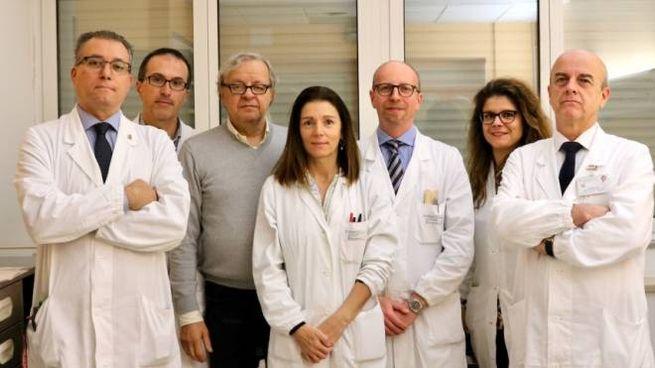 L'equipe della chirurgia toracica guidata da Uliano Morandi di Unimore