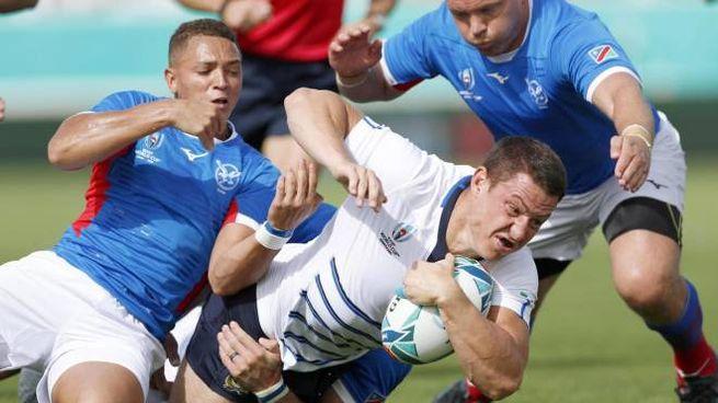 Coppa del mondo di rugby, Italia-Namibia (Ansa)