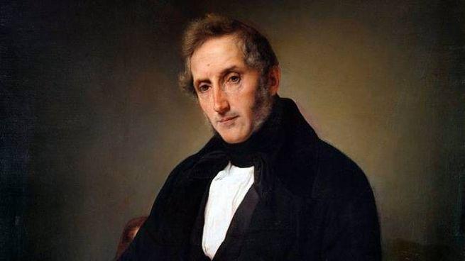 Alessandro Manzoni, ritratto di Francesco Hayez