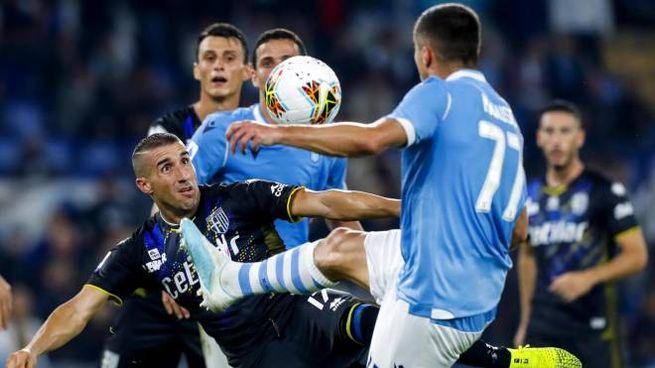 Lazio-Parma 2-0 (Ansa)