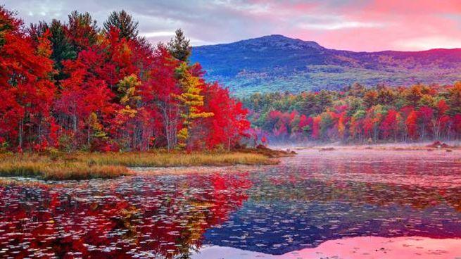 L'autunno nel New Hampshire, Stati Uniti