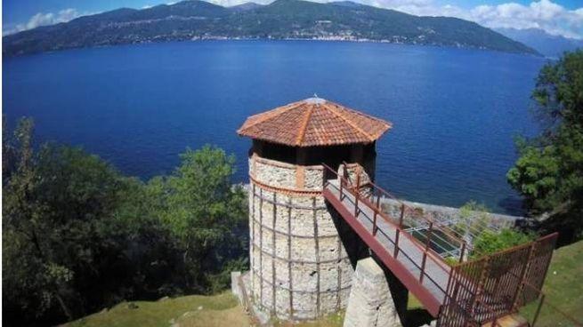 Vecchia fornace sul lago Maggiore a Ispra