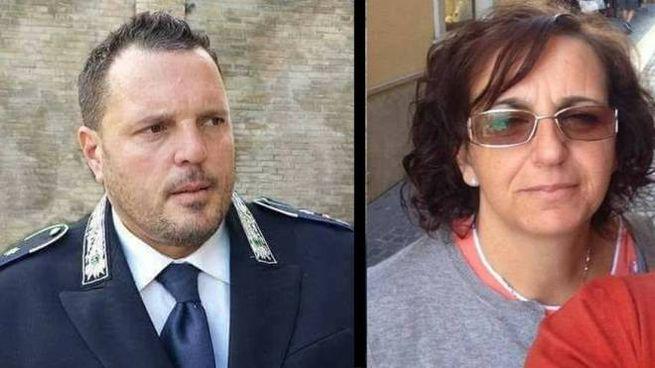 Massimiliano Giancaterino e Maria Perilli