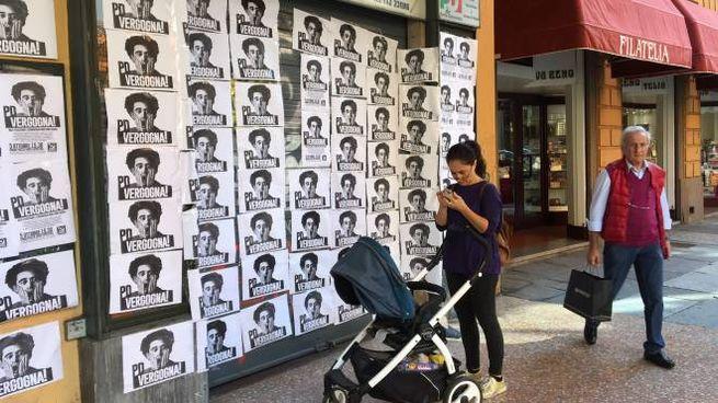 Circoli Pd nel mirino dei vandali a Bologna (FotoSchicchi)