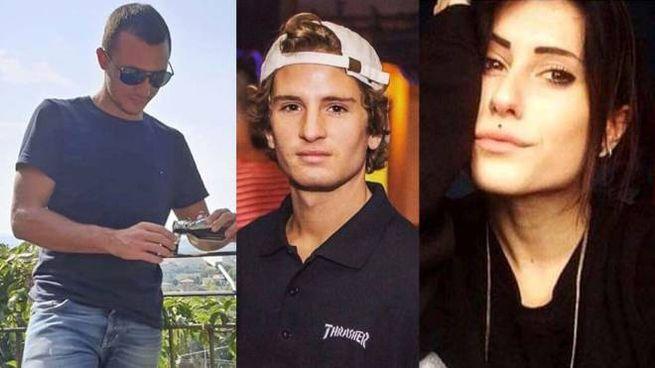 Incidente Vigarano, le vittime: Giulio Nali, Manuel Signorini e Miriam Berselli (da Fb)
