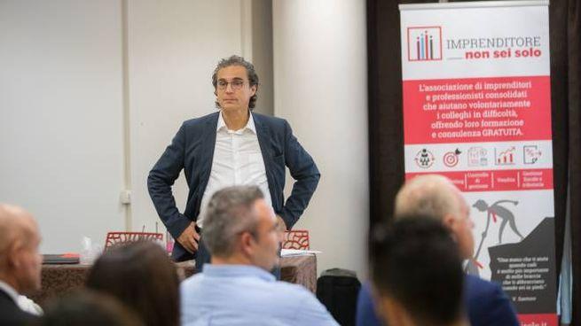 Paolo Ruggeri formatore e presidente dell'associazione 'Imprenditore non sei solo'