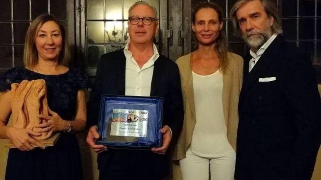 Hanno ritirato il premio Barbara Enrichi, il produttore Alessandro Aiazzi,  Annamaria Mali
