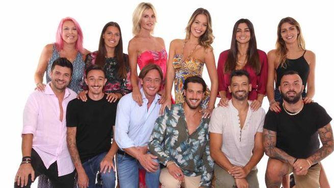 Il cast di Temptation Island Vip 2019 (Mediaset)
