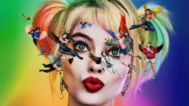 Un dettaglio del poster di 'Birds of Prey' - Foto: Warner Bros.