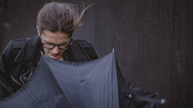 Pioggia e vento (iStock)