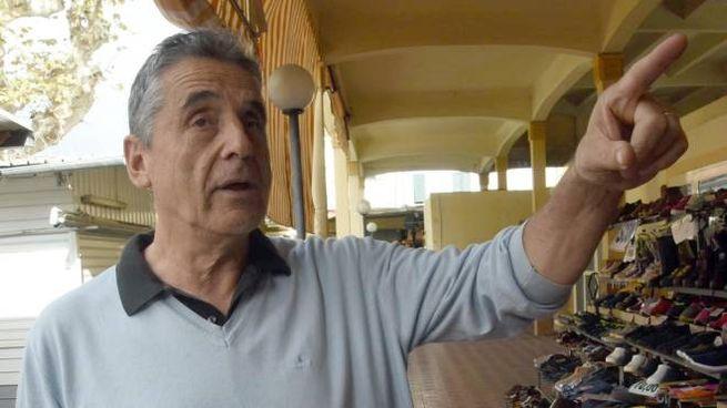 Giuliano Paterni da cinquant'anni  al Piazzone: «Io resto, costi quel che costi»