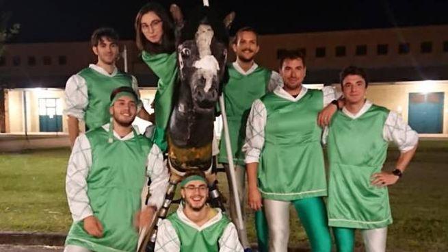 La squadra dell'università pronta al Palio di Lodi