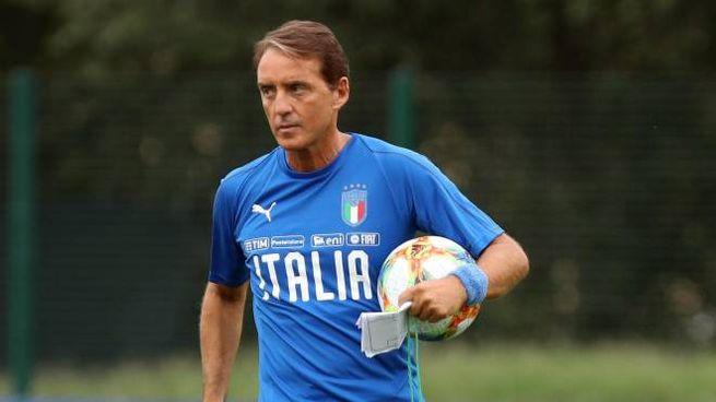 Roberto Mancini ct della Nazionale azzurra (Ansa)