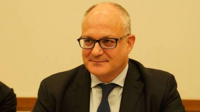 Il ministro Gualtieri in audizione alle Commissioni Bilancio di Senato e Camera (ImagoE)