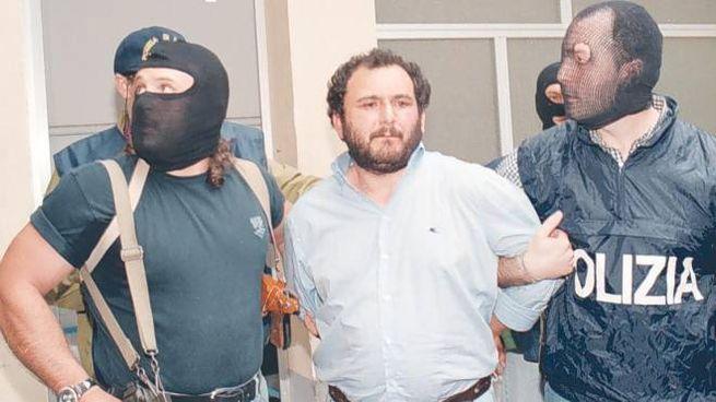 L'arresto di Giovanni Brusca, avvenuto a Palermo il 21 maggio 1996 (Ansa)