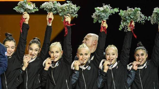 Ginnastica artistica, l'Italia vince il bronzo ai Mondiali di Stoccarda (Lapresse)