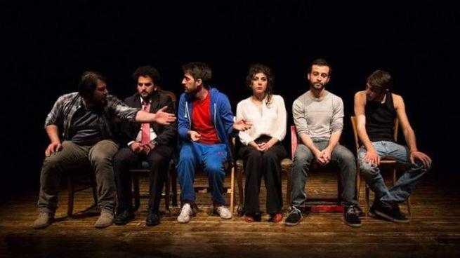 Sul palco del Minimal teatro a Empoli