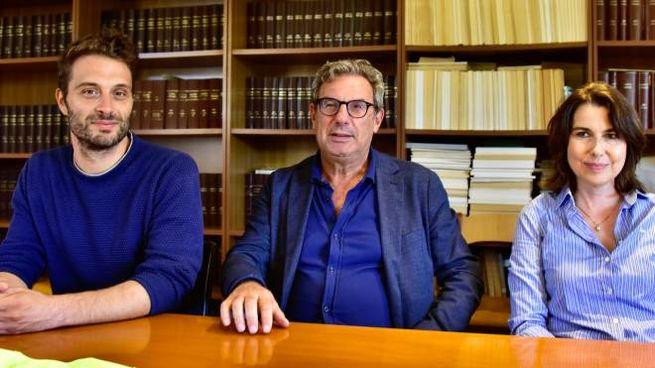 Da sinistra l'assessore Raspanti, il direttore Mazzerbo e l'assessore Cepparello