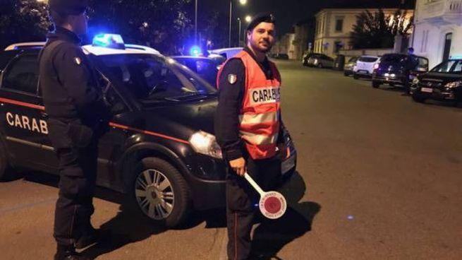 I carabinieri sono stati avvertiti dell'accaduto