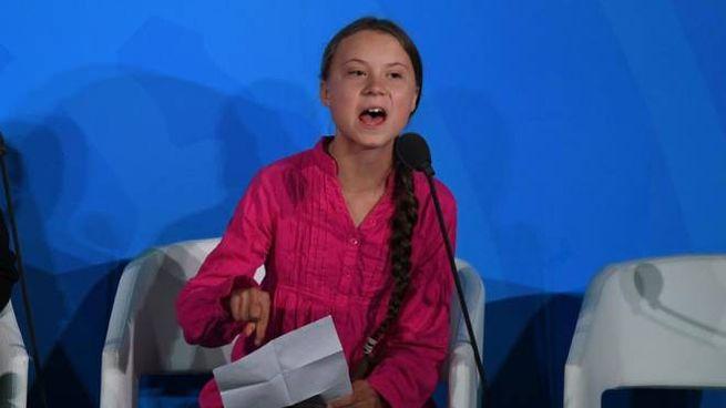 Greta Thunberg alle Nazioni Unite