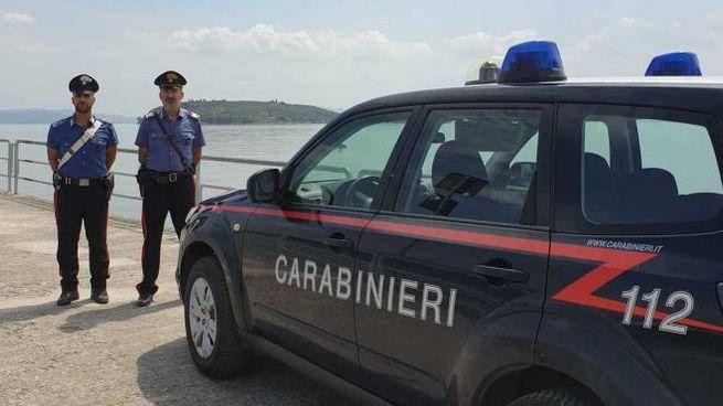 I carabinieri della stazione di Tuoro, guidati dal maresciallo Giovanni Foglia