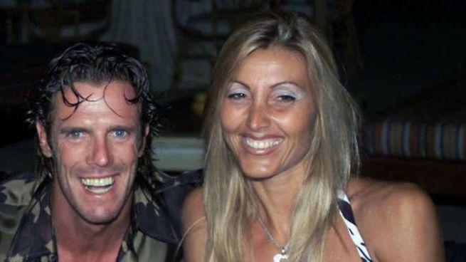 Mario Cipollini e l'ex moglie, Sabrina Landucci