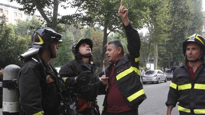 I vigili del fuoco hanno liberato l'abitazione dal gas (foto d'archivio Newpress)