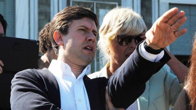 Il sindaco Nardella con l'assessore Meucci
