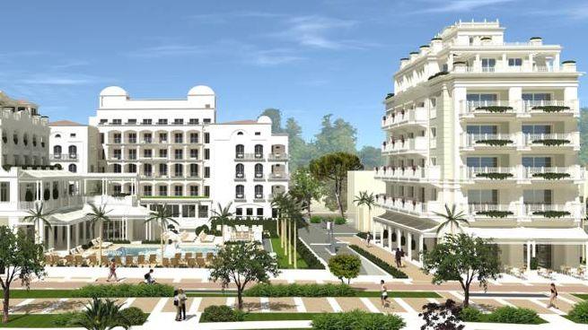 Riccione, il progetto di ampliamento dell'Hotel Corallo