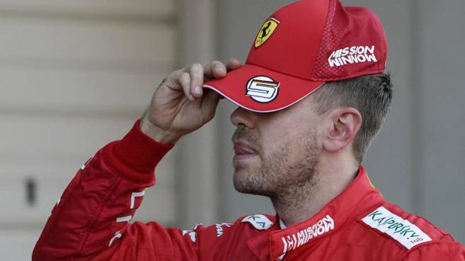 Sebastian Vettel, partenza da dimenticare, ma grande gara (Ansa)