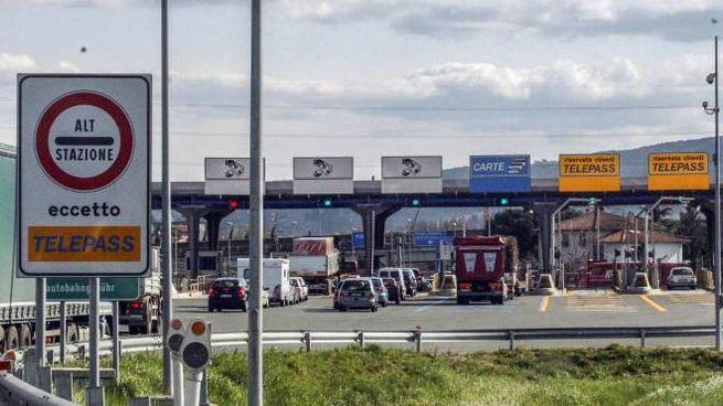 Un casello autostradale (Germogli)