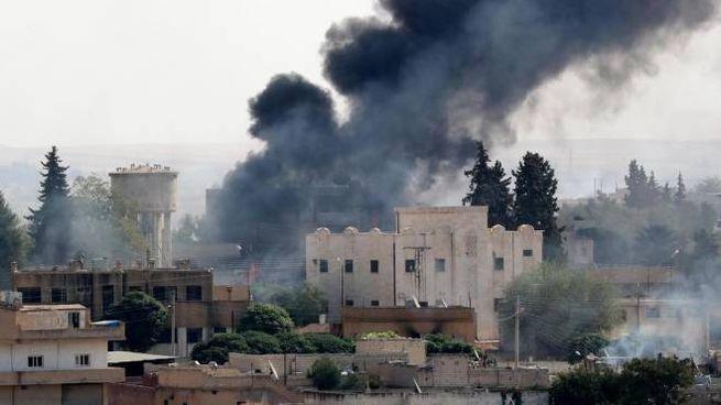 L'offensiva turca in Siria (Ansa)