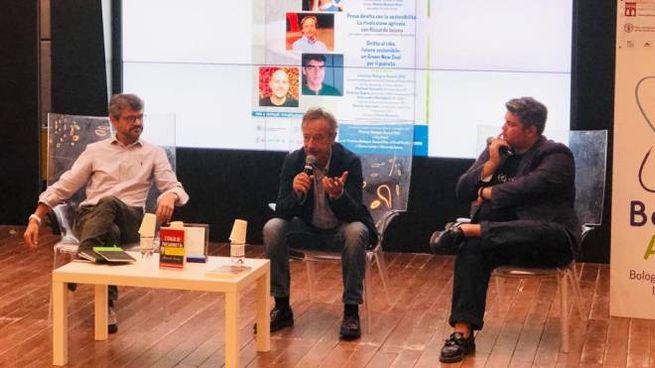 Andrea Segrè, Riccardo Iacona, Valerio Baroncini