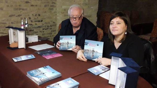 Il direttore artistico Fiorangelo Pucci e l'assessore alla Cultura Caterina Del Bianco