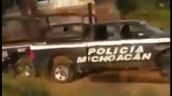 Strage di poliziotti in Messico (Twitter)