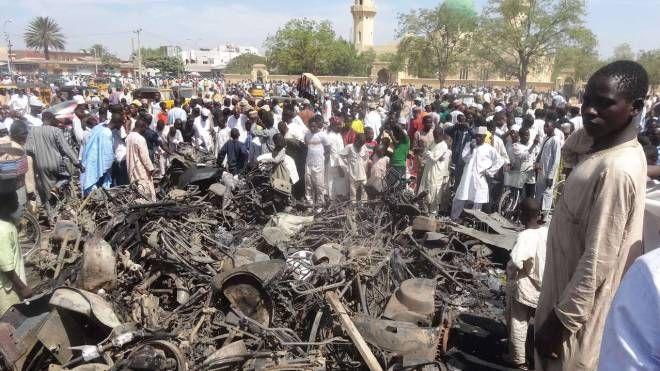 Un attentato in Nigeria (AFP)