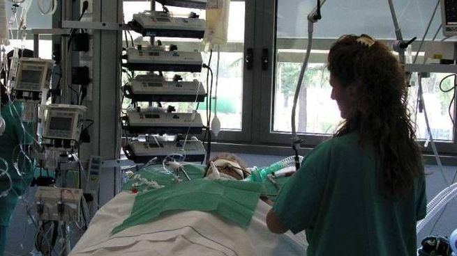 La paziente è stata ricoverata