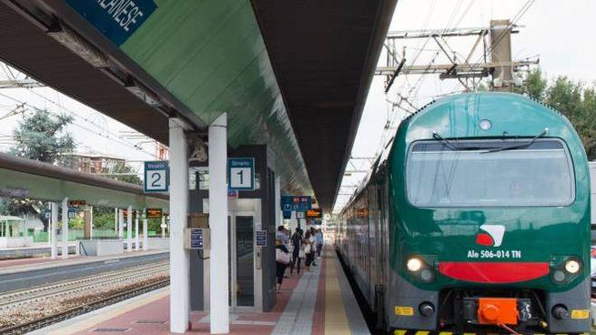 Stazione di Garbagnate, in una foto di repertorio (Spf)