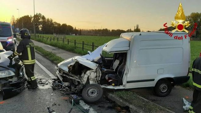 L'incidente a Masone, lungo la via Emilia