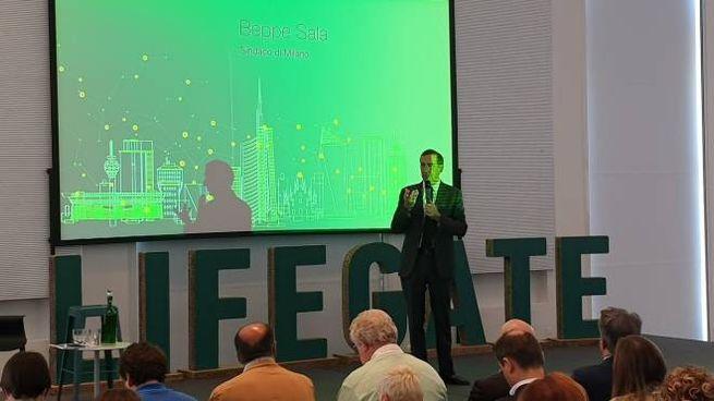 L'intervento di Beppe Sala al forum di Lifegate