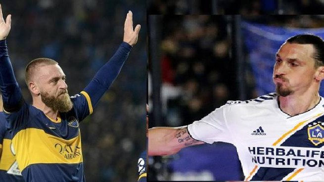 De Rossi e Ibrahimovic