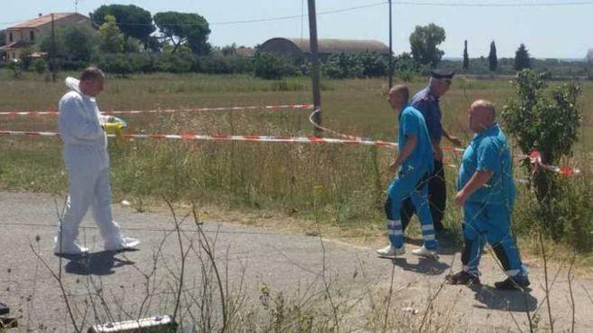 Il luogo dove, il 3 agosto, venne ritrovato il corpo di Simonetta Gaggioli