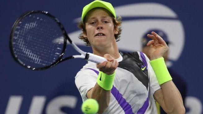 Jannik Sinner in semifinale al torneo di Anversa (Ansa)