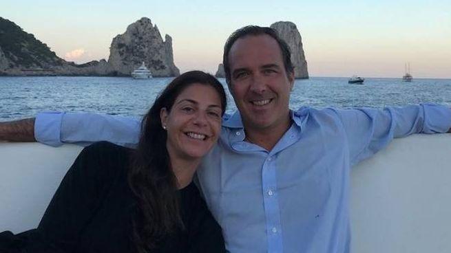 MariaGiulia Prezioso Maramotti e Lincoln Germanetti in un momento felice e spensierato