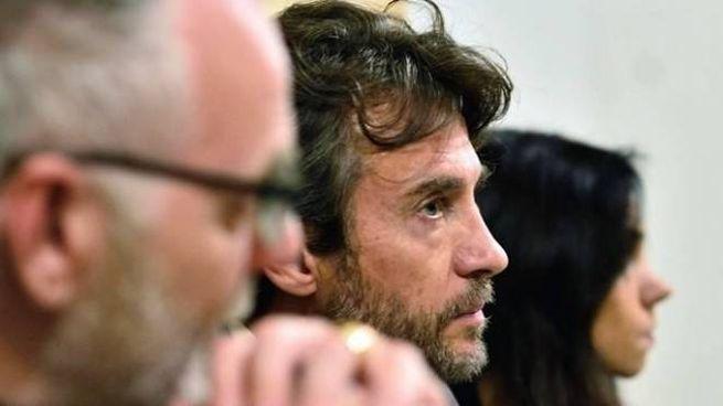 Il regista Giuseppe Tesi di Teatro Electra e Alessio Boni a tavola
