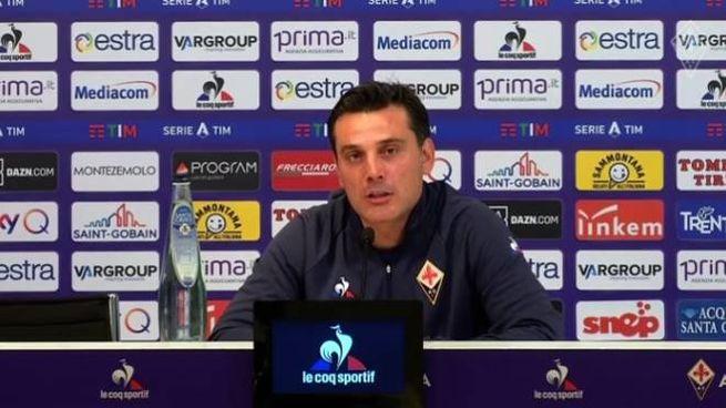 Vincenzo Montella in conferenza stampa
