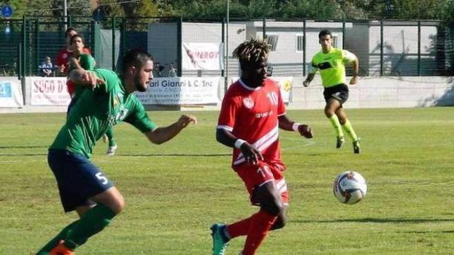 Lessa Locko, autore del gol del definitivo 1-2